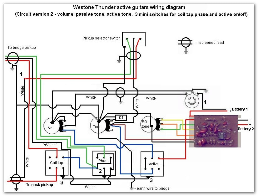 Thunder IIA version 2 Wiring?9d7bd4 thunder 1a wiring without active circuit westone thunder 1a wiring diagram at fashall.co