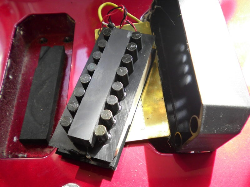 """spectrum gt st pickup replacement westone guitars the home of """"seeing as i had the spare slugs from the knackered pickup """""""